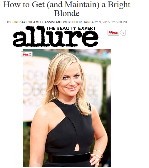 Allure Magazine, Amy Poehler