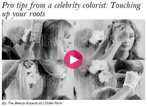 Stylist AOl Video Series for L'Oreal Paris